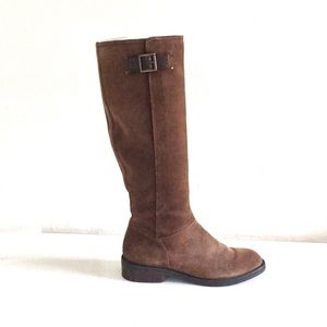 Enzo Angiolini EASHEER riding boots leather size 6